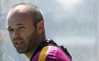 Kehadiran Suarez dan Gomes di Barca Tak Membuat Iniesta Cemas