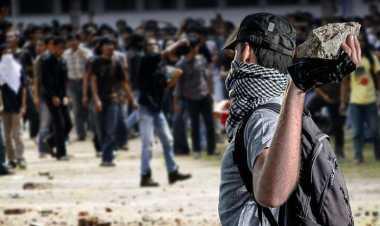 Polres Karo Periksa Lima Orang Pembakar Pos Polisi di Relokasi Pengungsi Sinabung