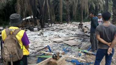Pasca-Kerusuhan di Sumbar, Korban Mencari Barang yang Tersisa