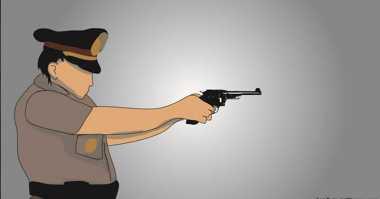 Melawan saat Hendak Ditangkap, Penjual Senjata Api Ditembak