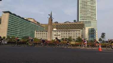Tour de Jakarta Hiburan Gratis Warga Jakarta