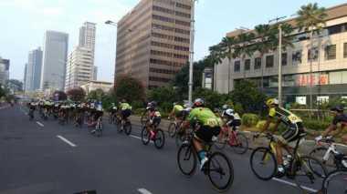 Kemenpar Manfaatkan Gedung Bertingkat untuk Momen Tour de Jakarta