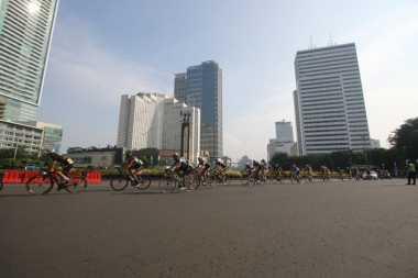Jawara Tour de Jakarta: Cuaca di Ibu Kota, Hot Banget !