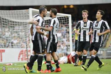 Juventus Tumbangkan South China 2-1