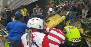 Update Laka Truk di Cianjur, 10 Tewas & 7 Orang Luka