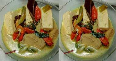 FOTO: Tuna Masak Tahu Nikmat untuk Makan Siang