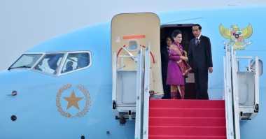 Usai Lawatan ke NTT & NTB, Jokowi Kembali ke Ibu Kota