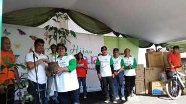 Menteri LHK Ajak Jaga Lingkungan di Aksi Hijau Nusantara
