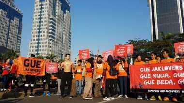 Minta Risma Maju di Pilgub DKI, Jaklovers Sapu Jalanan