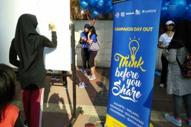 Anak Muda Kampanyekan Stop Bullying di Car Free Day