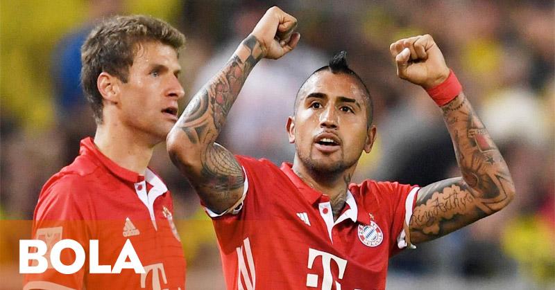 Taklukkan Dortmund 2-0, Bayern Munich Juara Piala Super Jerman 2016