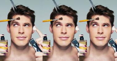 TOP FASHION 1: Butuhkah Pria Kenakan Make-Up?