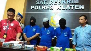 Komplotan Pencuri Truk Bermodus Bius Korban Ditangkap