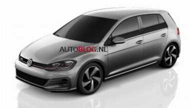 Beginikah Tampang Volkswagen Golf Facelift?