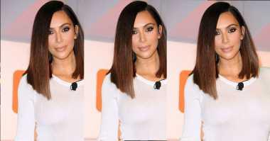 Spesial, Swimsuit Ini Khusus Dibuat untuk Kim Kardashian