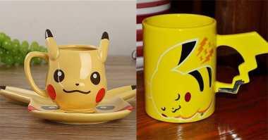 FOTO: Bikin Gemes! Cangkir Ini Bentuknya Pokemon Go