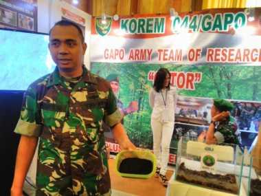 TNI AD Kembangkan Cat Antiradar dari Ban Bekas