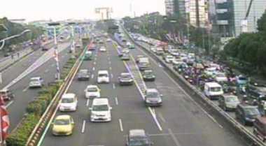 Lalu Lintas Jakarta Mulai Padat, Waspadai Kemacetan
