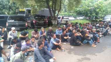 Puluhan Preman Digaruk Polisi saat Ricuh di Kampus Trisakti
