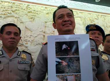 Pelaku Pembunuhan Aipda Sudarsa Bakar Pakaian Korban di Jimbaran