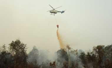 Riau Membara, Hotspot Terbanyak di Lokasi Tewasnya Pratu Wahyudi