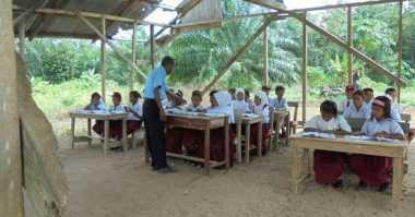 Secuil Mimpi Anak-Anak di Aceh Mendambakan Sekolah Layak