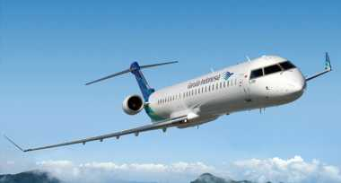Garuda Nyaris Kembali Gagal Landing di Bandara Binaka