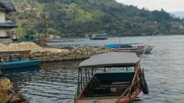 Presiden Jokowi Siapkan Taman Bunga Terbesar di Danau Toba