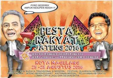 Besok, Pesta Rakyat Jateng 2016 Dimulai!