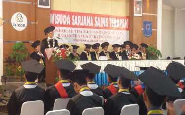 73 Mahasiswa STTN Batan Yogyakarta Diwisuda