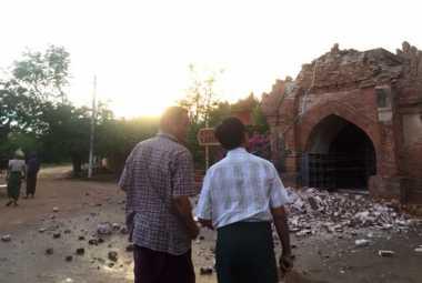 Gempa Myanmar Tewaskan Tiga Orang, 171 Pagoda Hancur
