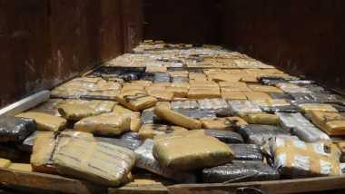 Polisi Bongkar Sindikat Pengedar Ratusan Kilogram Ganja di Bekasi
