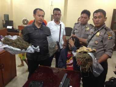 Polisi Musnahkan 1,4 Kg Ganja Hasil Sitaan di Kampus ITM