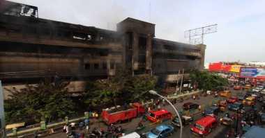 Pekan Depan, Polisi Ungkap Penyebab Kebakaran Pasar Aksara
