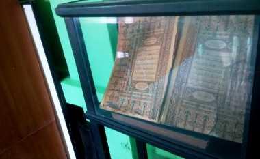Alquran 1,5 Abad Masih Tersimpan di Masjid Tertua Lampung