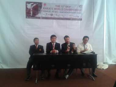 Indonesia Targetkan 10 Emas dan Tembus Tiga Besar di Kejuaraan Dunia Karate SKIF 2016