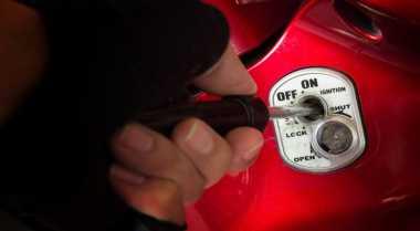 Curi Motor dengan Kunci Masih Tergantung, Imron Ditangkap