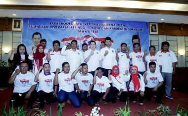 Hary Tanoe Lantik 419 DPRt Perindo se-Sukabumi