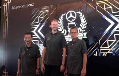Mercedes Benz Apresiasi Penggunaan Bus 1 Juta Km di Indonesia