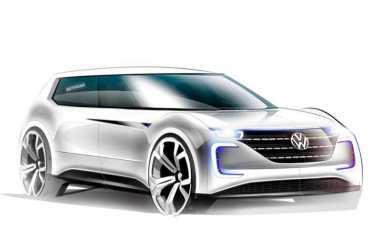 Diperkenalkan Oktober, Mobil Listrik Pertama VW Hasil 'Perkawinan' Golf & Passat