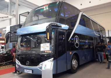 Cara Mercedes Benz Bersaing di Bisnis Bus dengan MAN & Scania