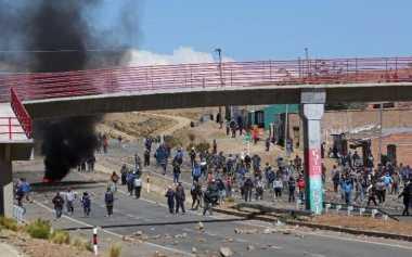 Wakil Mendagri Bolivia Tewas Dipukuli Demonstran