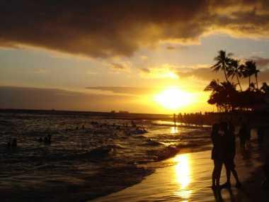 Di Sini Tempat Terbaik Menikmati Sunset di Bau-Bau
