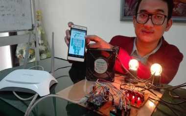 Mahasiswa Surabaya Ciptakan Aplikasi Pengontrol Penggunaan Listrik