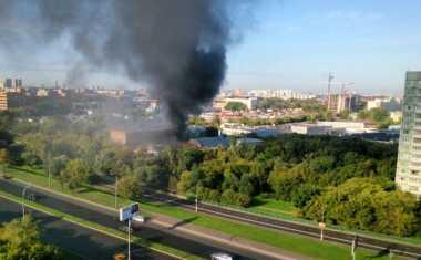 Breaking News: Kebakaran di Rusia, 16 Tewas