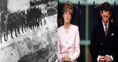 Sejarah Dunia: Pembantaian di Ukraina Hingga Berakhirnya Royal Wedding
