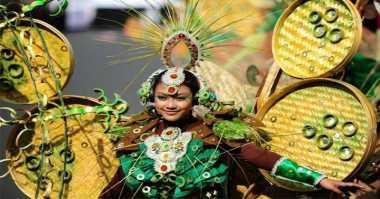 Awalnya Karnaval Keluarga, Jember Fashion Carnaval Kini Jadi Sorotan Dunia