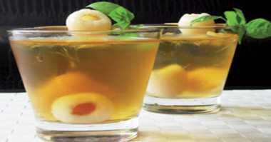 Seruput Segar Dinginnya Lychee Tea Mocktail