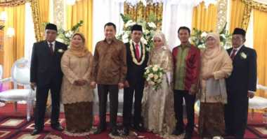 Hary Tanoe Hadiri Resepsi Pernikahan Putra Ketum PBNU