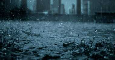 Malam Minggu Jakarta Diguyur Hujan